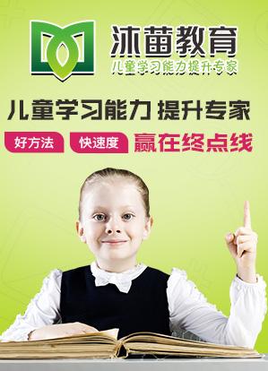 沐苗教育赢在终点线,儿童学习能力提升专家